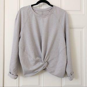 LULULEMON knot/twist pullover/sweater